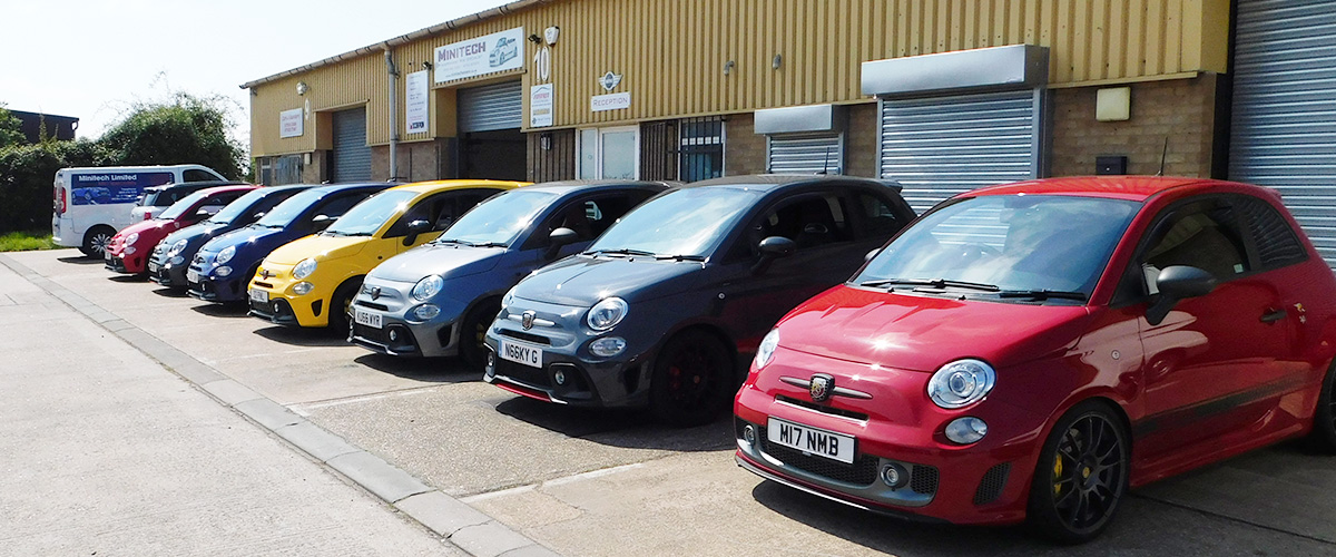 Mini and Fiat 500 Abarth Tuning Southend on Sea, Essex - Minitech Ltd